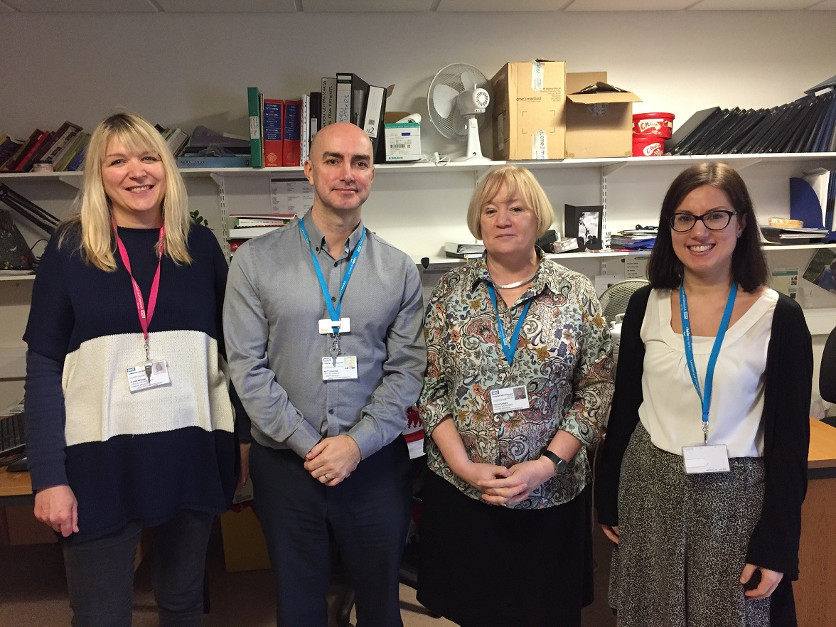 Psychology team supports patients – and NHS staff